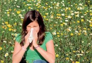 Síntomas de la alergia al polen